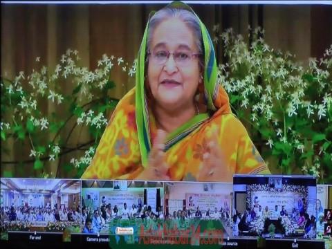 ঝিনাইদহের ২ উপজেলাকে শতভাগ বিদ্যুতায়িত ঘোষণা করলেন প্রধানমন্ত্রী