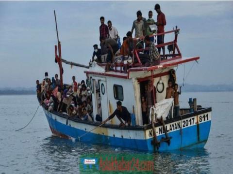 মালয়েশিয়ায় রোহিঙ্গা বোঝাই নৌকাডুবি, ২৪ জনের মৃত্যুর আশঙ্কা