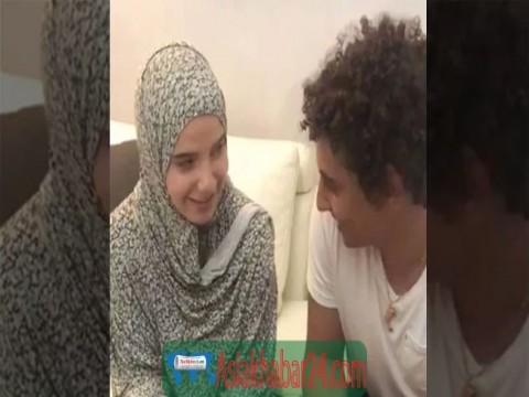 ইসলাম গ্রহণ পর তরুণীকে বিয়ে করলেন মিসরীয় ফুটবলার