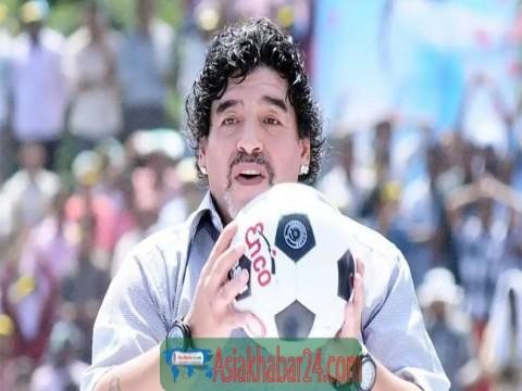 এক নজরে ফুটবলের জাদুকর দিয়াগো ম্যারাডোনা