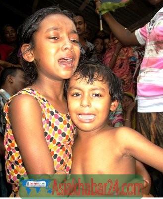 রূপগঞ্জে বাড়ির সীমানা নিয়ে বিরোধ ছোট ভাইকে গলাকেটে ও কুপিয়ে হত্যা