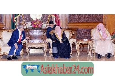 ইসলাম সম্পর্কে অপপ্রচার বন্ধে রাষ্ট্রপতির সঙ্গে সাক্ষাৎ করলেন সৌদির দুই ইমাম