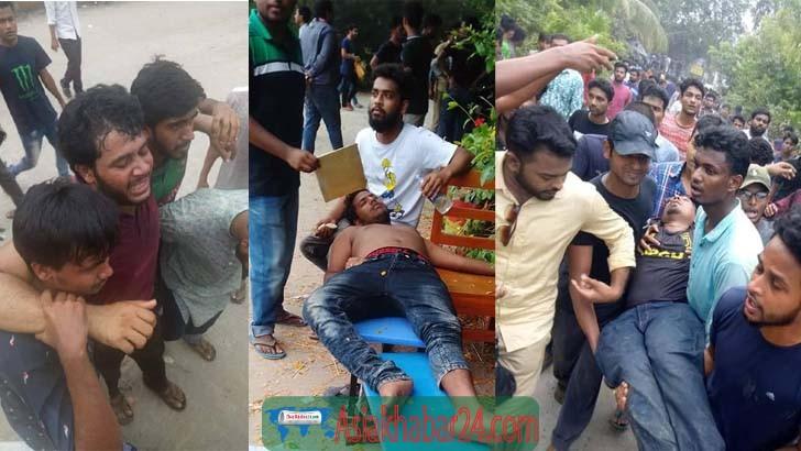 'ভিসির নির্দেশে' গোপালগঞ্জে শিক্ষার্থীদের ওপর হামলা