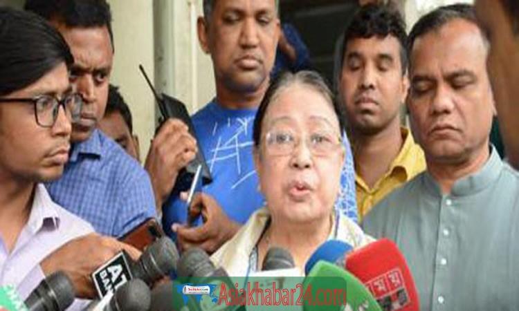 খালেদা জিয়াকে জীবিত ফেরত পাবো কিনা সন্দেহ : সেলিমা ইসলাম
