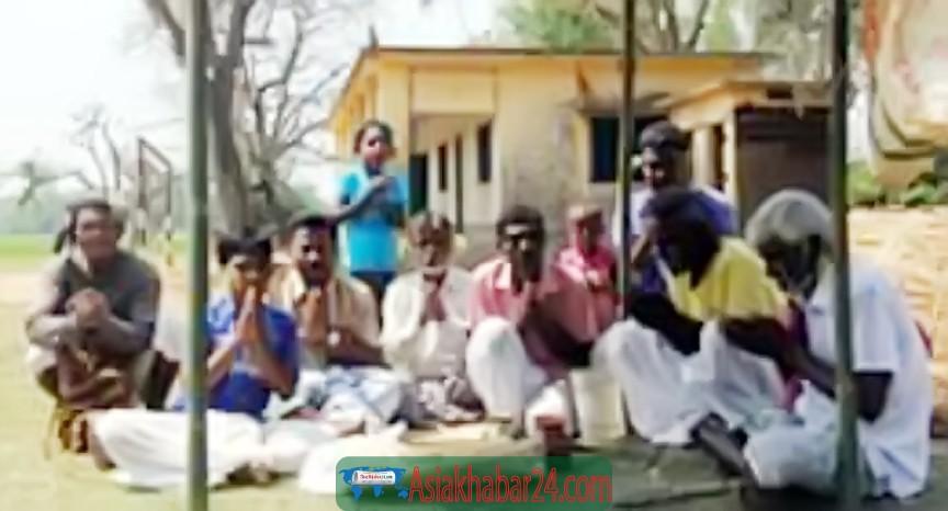 পার্বতীপুরে শুধুমাত্র পূজার মধ্যদিয়ে ঐতিহ্যবাহী 'বাহা পরব' উদযাপিত
