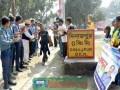 ১০৮ দিনে পায়ে হেঁটে ৬৪ জেলা ভ্রমণ করেছেন দিনাজপুরের নাসিম