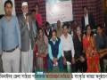 ঝিনাইদহ জেলা সাহিত্য পরিষদে সাহিত্য ও সাংস্কৃতি আড্ডা