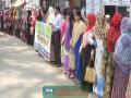 ঝিনাইদহে ৮ মার্চ আন্তজার্তিক নারী দিবস উপলক্ষে মানববন্ধন