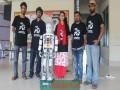 শাবি শিক্ষার্থীদের ' উদ্ভাবন দেশের প্রথম পায়ে হাঁটা রোবট