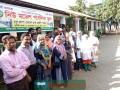 """""""নিউ মডেল পাবলিক স্কুল"""" প্রাঙ্গণে দিনব্যাপী বিনামূল্যে চিকিৎসা সেবা প্রদান"""