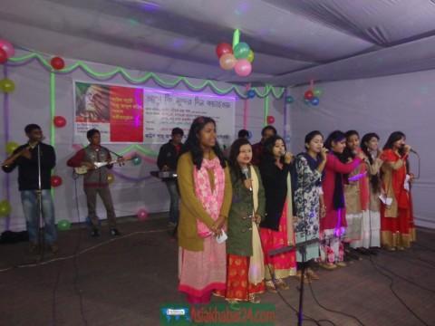 গাইবান্ধায় বাউল শাহ আবদুল করিম  স্মরণে সংগীতানুষ্ঠান