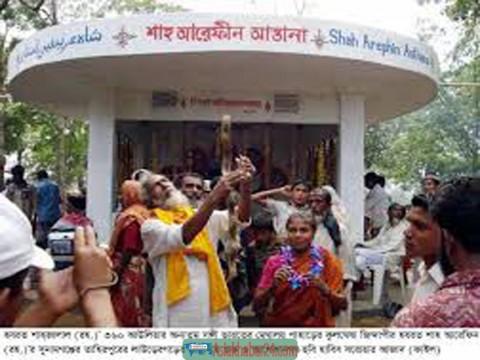 সুনামগঞ্জ সীমান্তে দু'আধ্যাতিক মহাসাধকের মিলনমেলা শুরু