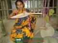 ব্যাপক ব্যাস্ততায় কাটছে কালীগঞ্জের পাখা পল্লী