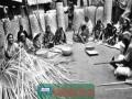 ঝিনাইদহে বাঁশ ও বেতের কুটির শিল্পের কারিগররা এখন মহাব্যস্ত