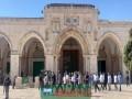 ভারি অস্ত্রে পুলিশি পাহারায় মসজিদুল আকসায় ইহুদিদের প্রবেশ