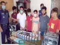 রূপগঞ্জে পতিতা -খদ্দেরসহ গ্রেফতার ২৪, মাদক উদ্ধার