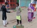 নতুনধারার মাস্ক ও স্যানিটাইজার কেন্দ্র উদ্বোধন